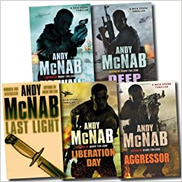 Nick Stone Thriller Collection Andy Mcnab 5 Books Set