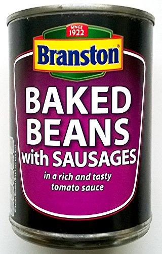 Haricots Branston au four avec des saucisses - 3 x 405gm