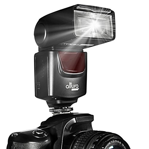 Altura Photo (Ap- Unv1) Professional Speedlite Flash For Canon Nikon Sony Panasonic Olympus Fujifilm Pentax Sigma Minolta Leica And Any Dslr, Slr, Film Or Digital Camera With A Hot Shoe Mount (Nikon D3200 D3100 D3000 D3300 D5000 D5100 D5200 D5300 D7000 D7
