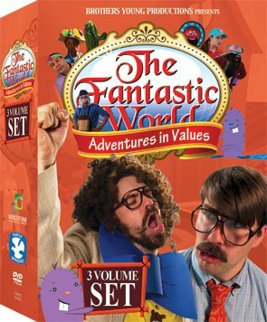 Bridgestone Multimedia Group DVAV3 Fantastic World Presents - Adventures In Values - Volumes 1, 2 and 3 - 3 DVD Set