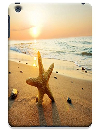 Fantastic Faye Cell Phone Cases For Ipad Mini No.10 The Fashion Design With Warm Sunshine Beach Blue Sky Clean Water Sea Star Beautiful Shell Slipper
