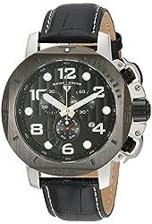 Swiss Legend Men's 10537-01-BB Scubador Analog Display Swiss Quartz Black Watch