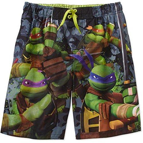 Teenage Mutant Ninja Turtles Little Boys Swimsuit Swim Trunk Size 6/7