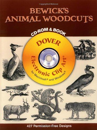 Bewick's Animal Woodcuts (Electronic Clip Art)