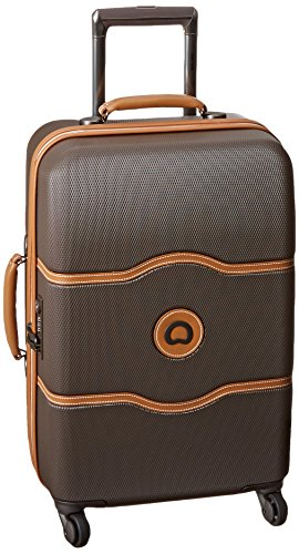 delsey-luggage-chatelet-21-inch-carry-on-spinner-brown-one-size