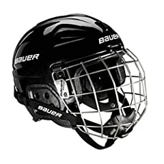 Buy Bauer Lil Sport Youth Hockey Helmet & Face Mask Combo. Pink or Black. 1036927 by Bauer