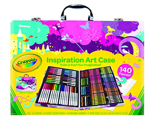 <b>Crayola Inspiration Art Case-Pink</b>