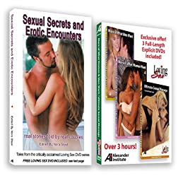 Sexuality DVD: 3-Programs 3-Hours + Sexual Secrets and Erotic Encounters erotica book