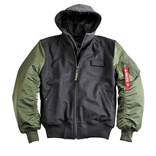 Alpha Ind. Jacke MA-1 D-Tec Wool – sage-green NEU S – 3XL jetzt kaufen