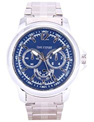 Time Expert Analogue Blue Dial Men's Watch - TE100343
