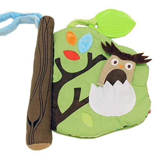 malloom-animales-mono-pescado-rama-de-arbol-libros-de-trapo-3d-bebe-arbol