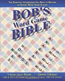 Bob's Bible: Words, Anagrams and Hooks
