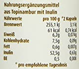 Raab Vitalfood Topinambur Kapseln, 80 Kapseln, 1-er Pack (1 x 48 g) - Bio
