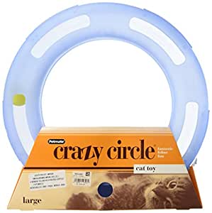 Petmate Crazy Circle Interactive Cat Toy, Large
