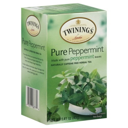 Twinings Of London Pure Peppermint Herbal Tea (Box Of 20)