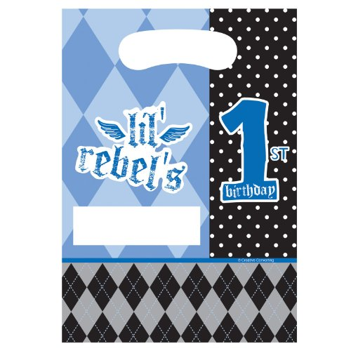Lil' Rebel 1st Birthday Treat Bags - 1