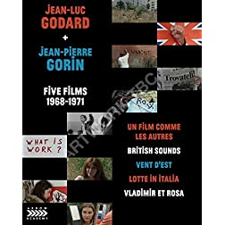 Jean-Luc Godard + Jean-Pierre Gorin: Five Films, 1968-1971 [Blu-ray]