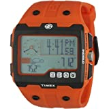 Timex - Expedition - T49761 - Montre Homme - Quartz - Digitale - Montre de randonn�e - Bracelet Plastique Orangepar Timex