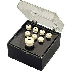 Buy Fender Bridge Pin Set - Ivory w  Black Dot by Fender
