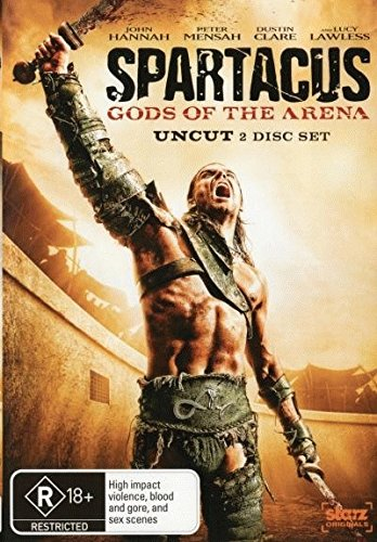 Spartacus Gods of the Arena DVD Review The Complete