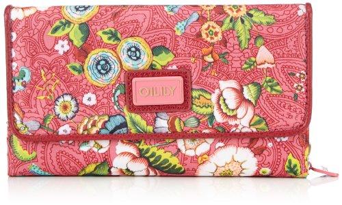 oilily-french-flowers-l-wallet-pink-ocb3229-402-damen-geldborsen-pink-pink-402-19x11x4-cm-b-x-h-x-t