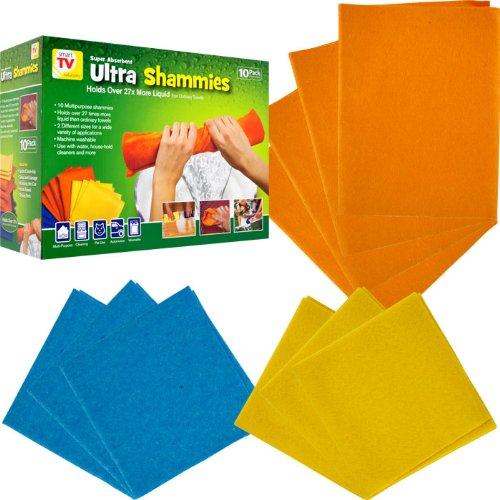 Super Absorbent Ultra Shammies 10 Pack