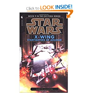 Starfighters of Adumar (Star Wars: X-Wing #9) by Aaron Allston