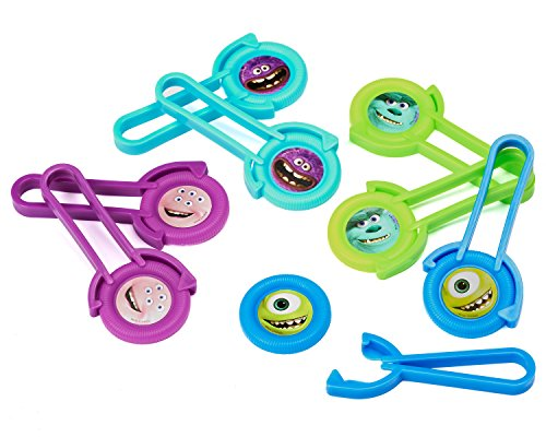 Monsters University Party Accessories, Disc Shooters, 8 Count, Party Supplies