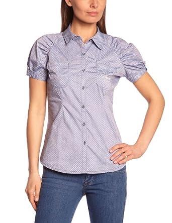Kaporal Damen Shirt  MEYERE13W4, Kent  - Mehrfarbig - Multicolore (Blusta) - 36 (Herstellergröße: M)