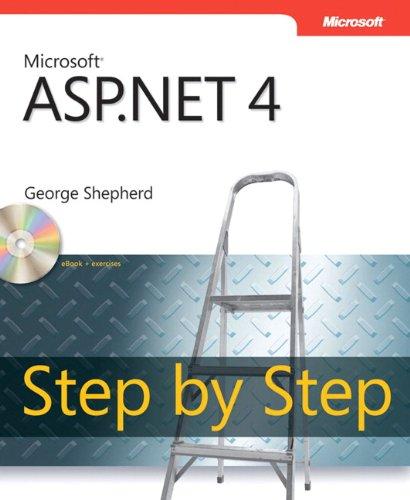 Microsoft ASP.NET 4.0 Step By Step Book/CD Package