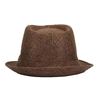 Fedora Hat Short Brim Men Women Hats Cuban Style Black Friday