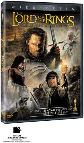 the lord of the rings the return of the king dvd 2004