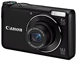 Canon PowerShot A2200 Digital Camera (Black)
