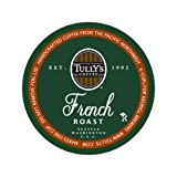 Tully's Coffee French Roast, 24-Count K-Cups for Keurig Brewers  (Pack of 2) ~ Tully's Coffee