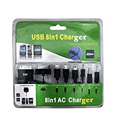 Shopaholic 8 IN 1 USB Cable CHARGER-YXT0031