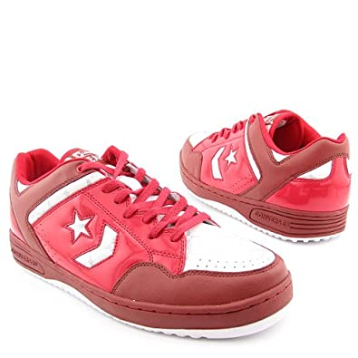 Converse Weapon Red Ox Mens Leather sneakers / Shoes - Red - SIZE US 10.5