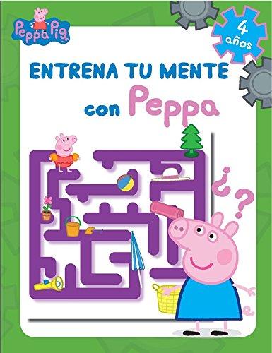 Entrena Tu Mente Con Peppa. 4 Años. Cuaderno De Actividades (PEPPA PIG)