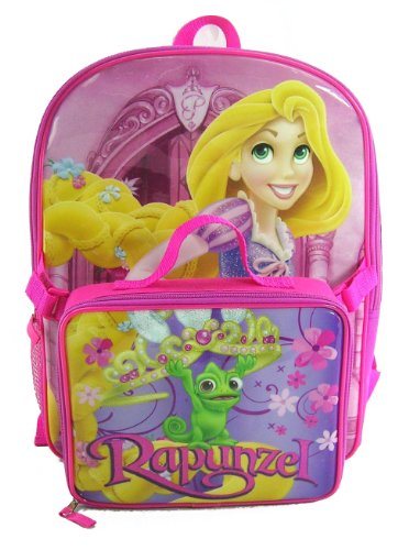 dd448462b1e lunch boxes for girls  Disney Princess Rapunzel Backpack With Lunch Box