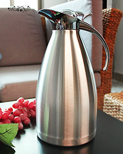 vacuum insulated carafe 304 stainless steel double wall. Black Bedroom Furniture Sets. Home Design Ideas