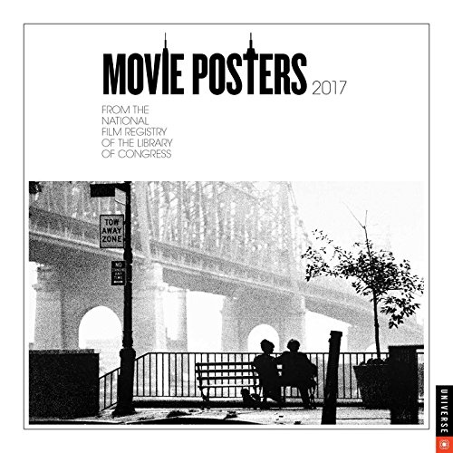 Movie Posters 2017 Wall Calendar: From The National Film Registry of the Library of Congress (Vintage Film Posters compare prices)