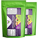 Volcanat Health - 2 x 60 Premium Quality African Mango High Strength 6000mg Tablets - Diet Supplement Pills - Foil Pouch Resealable Packs - 120 Tablets - Weight Management