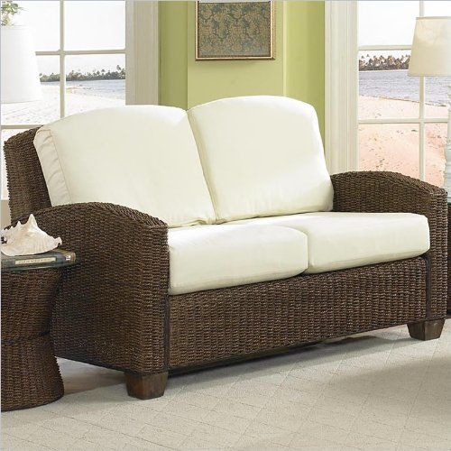 Home Styles Furniture Cabana Banana Loveseat In Cocoa Finish