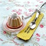 アルタ 小さなお菓子のストラップ ババロア