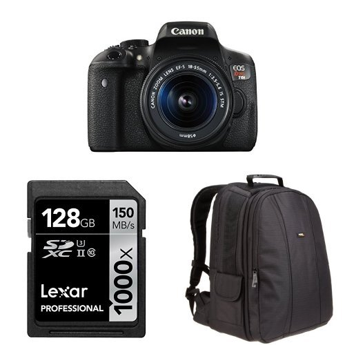 canon-eos-rebel-t6i-digital-slr-with-ef-s-18-55mm-lens-amazonbasics-dslr-bag-and-128-gb-lexar-memory