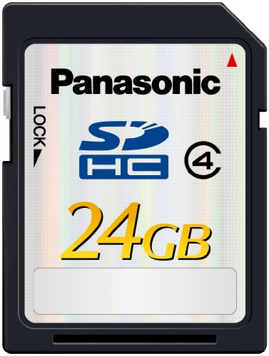 Panasonic 24GB Class 4 High Speed SD Memory Card