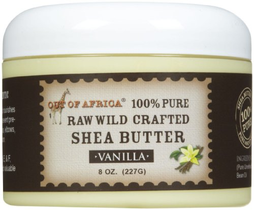 Out of Africa Raw Shea Butter, Vanilla, 8 Ounce