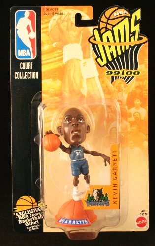 KEVIN GARNETT / MINNESOTA TIMBERWOLVES * 99/00 Season * NBA JAMS Super Detailed * 3 INCH * Figure