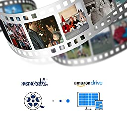 Memorable Film Transfer to Amazon Drive - Preservation Quality (80 reels)