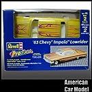 63 Chevy Impala LowRider ProFinish(GOLD) 1963 シボレー インパラ ローライダー プロフィニッシュ ゴールド Revell 85-1653 1:25スケール