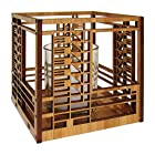 Frank Lloyd Wright Bach House Design Hardwood Votive